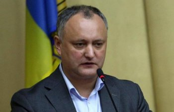 Presedintele Igor Dodon a fost suspendat din functie