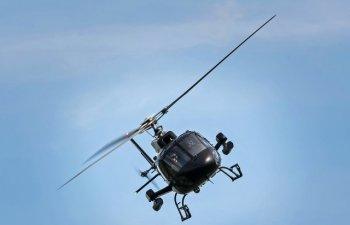 Primarul localitatii Barna a mers la o intalnire de afaceri cu elicopterul