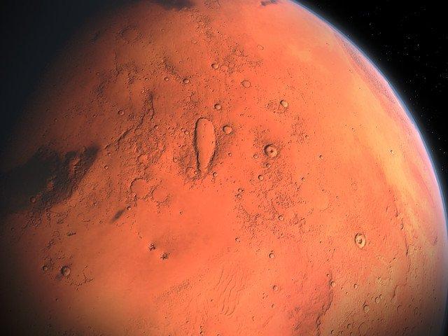 Descoperirea facuta de NASA in scoarta planetei Marte