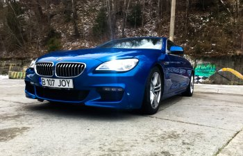 TEST-DRIVE. BMW Seria 6 Gran Coupe - am condus un vis