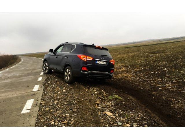 TEST-DRIVE. SsangYong Rexton G4 - lux accesibil?