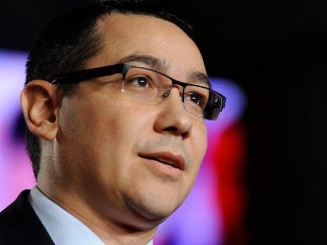 Victor Ponta: Un prim-ministru care nu isi poate schimba un ministru este o marioneta