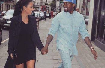 Kim Kardashian si Kanye West au anuntat nasterea celui de-al treilea copil