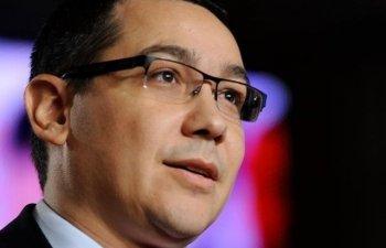 Ponta: Voi vota impotriva Guvernului Dancila cu toata convingerea