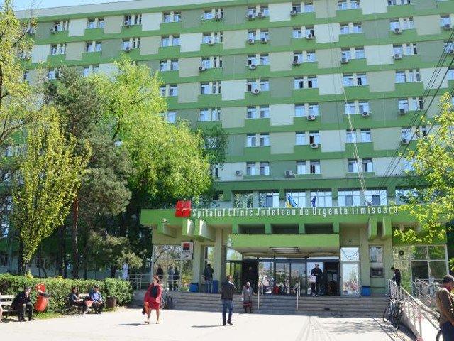 Un barbat a murit dupa ce s-a aruncat de la etajul cinci al Spitalului Judetean Timisoara
