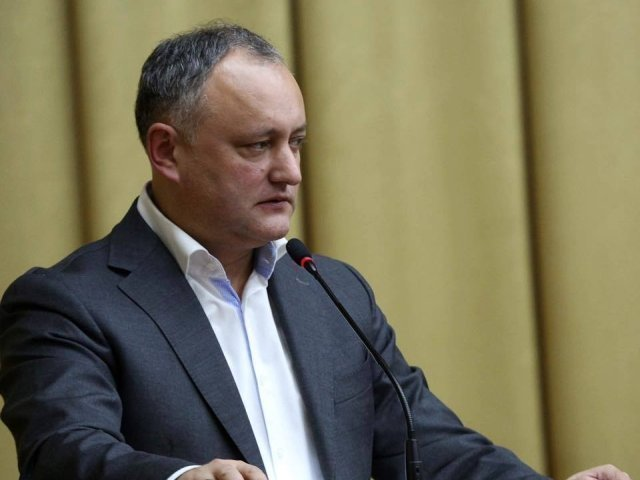 Igor Dodon: Unirea inseamna razboi civil!
