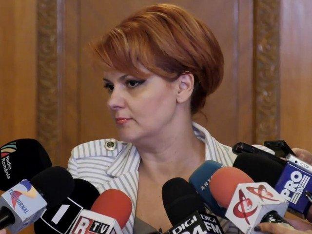 Olguta Vasilescu: Vor fi scaderi salariale intre 10% si 40% pentru o parte din bugetari
