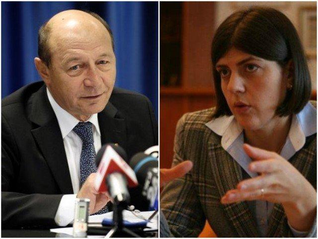 Basescu, despre Kovesi: Minte cu nerusinare. Administreaza DNA in favoarea intereselor ei de publicitate