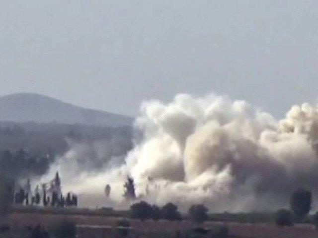 Atac cu bomba la o cladire diplomatica rusa din Damasc