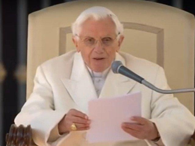 """Fostul Papa Benedict al XVI-lea este pregatit pentru """"un pelerinaj spre Casa"""""""