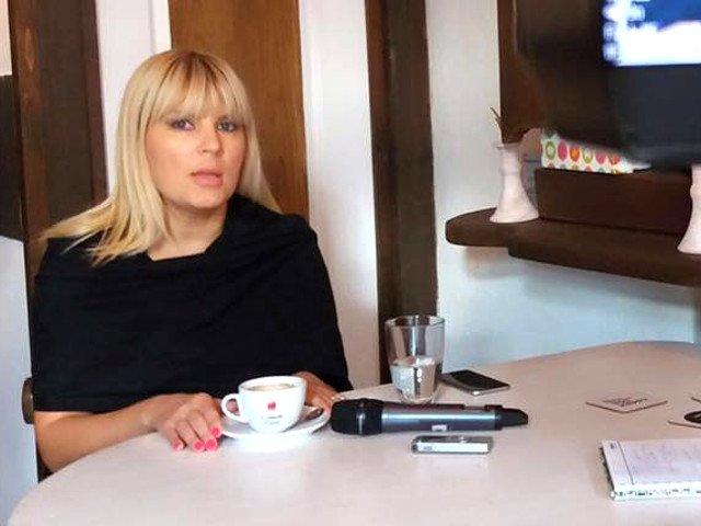 Elena Udrea a plecat la Atena
