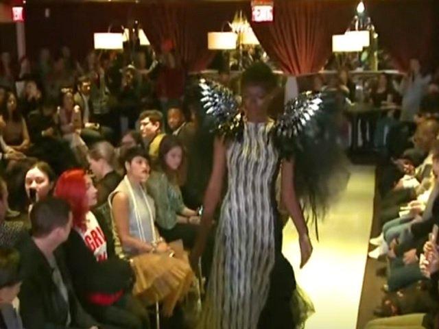 Campania #MeToo a fost marcata printr-o prezentare de moda la New York