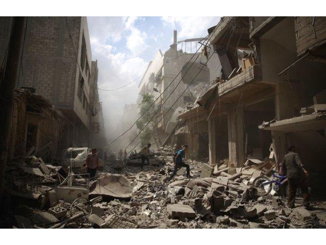 ONU: 230 de civili, ucisi ultima saptamana in atacuri lansate de Siria si Rusia
