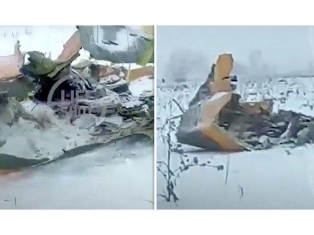 Rusia: Un avion cu 71 de persoane la bord s-a prabusit in apropiere de Moscova. Nu exista supravietuitori