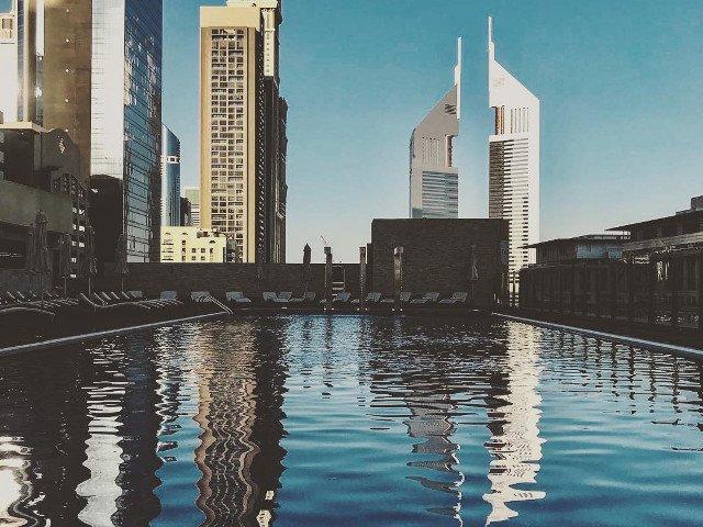 Cel mai inalt hotel din lume a fost inaugurat in Dubai