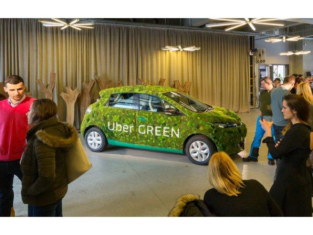 Uber a lansat serviciul UberGreen in Bucuresti: cum calatoresti cu masini electrice Renault Zoe cu 1.65 lei