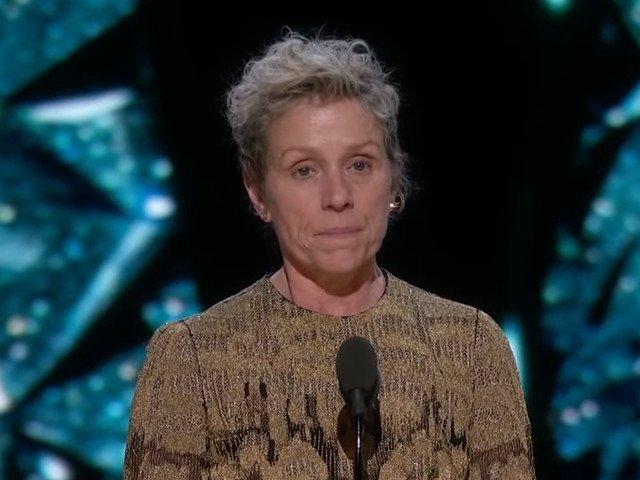 Oscarul pentru cea mai buna actrita in rol principal, primit de Frances McDormand, a fost furat/ VIDEO
