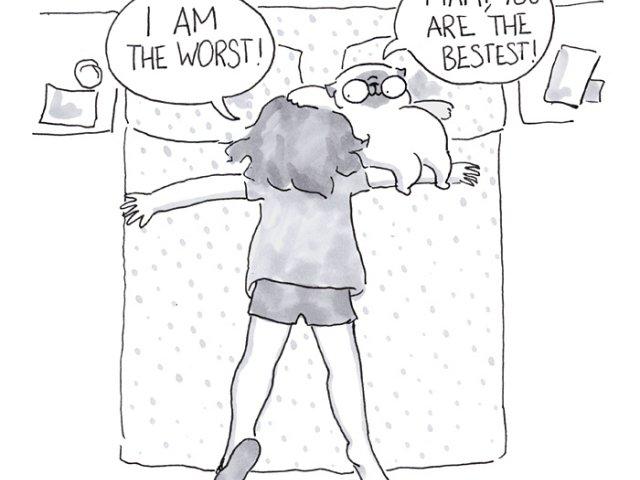 10+ ilustratii amuzante care descriu viata alaturi de un caine