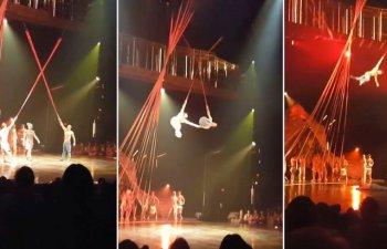 Acrobat de la Cirque du Soleil, mort in timpul unui numar/ VIDEO