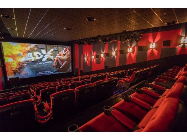 Cinema City a inaugurat in Iulius Mall din Cluj-Napoca cea de-a 5 sala 4DX din Romania