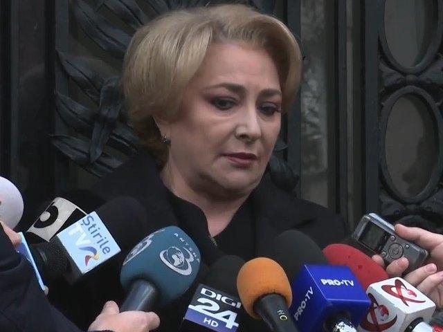 Viorica Dancila, despre o eventuala preluare a conducerii partidului: Eu sunt un om dintr-o bucata