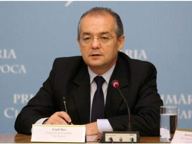 Emil Boc a anuntat ca ar putea construi metrou in Cluj