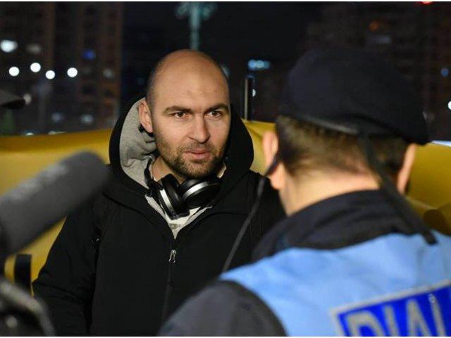 Politia Capitalei: Protestatarul Cristian Dide a fost amendat pentru refuzul de a se legitima si expresii injurioase