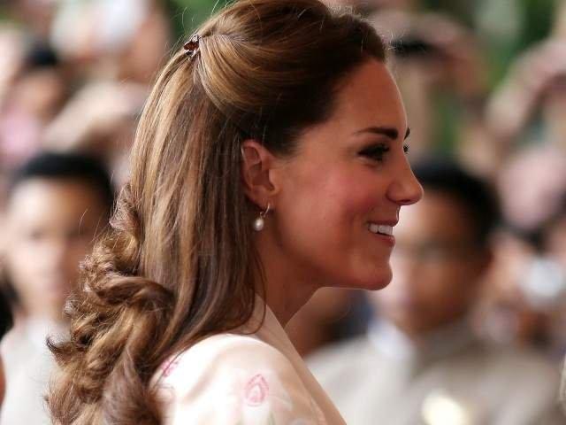 Ducesa de Cambridge a nascut