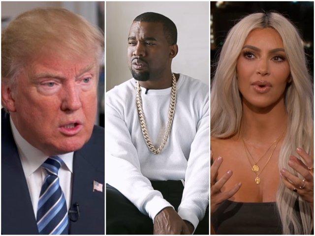 Donald Trump, laudat de Kanye West pe Twitter. Cum a reactionat Kim Kardashian