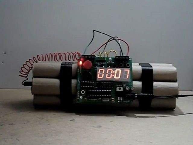 O bomba de aruncator, descoperita in localitatea Cismea din Botosani