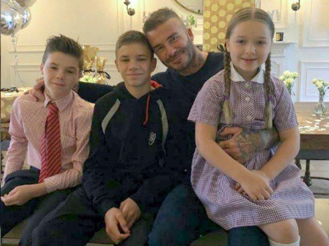 David Beckham, emotionat pana la lacrimi de cadoul facut de fiul sau la implinirea a 43 de ani/ VIDEO