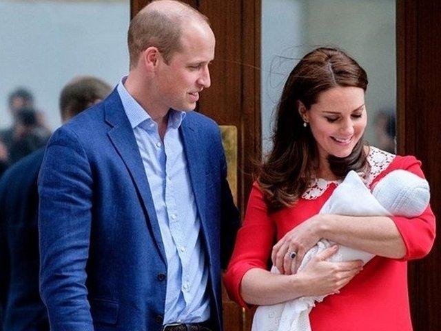 Casa Regala britanica a publicat primele fotografii oficiale cu printul Louis/ FOTO