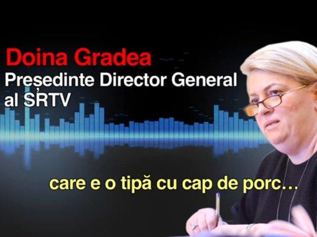 """Doina Gradea, despre inregistrarea in care face o jurnalista """"cap de porc"""": Am fost inregistrata nelegal. Mi-am cerut scuze"""