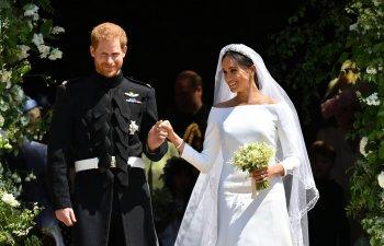 Nunta regala. Meghan Markle, rochie cu trena de cinci metri, creatie Givenchy