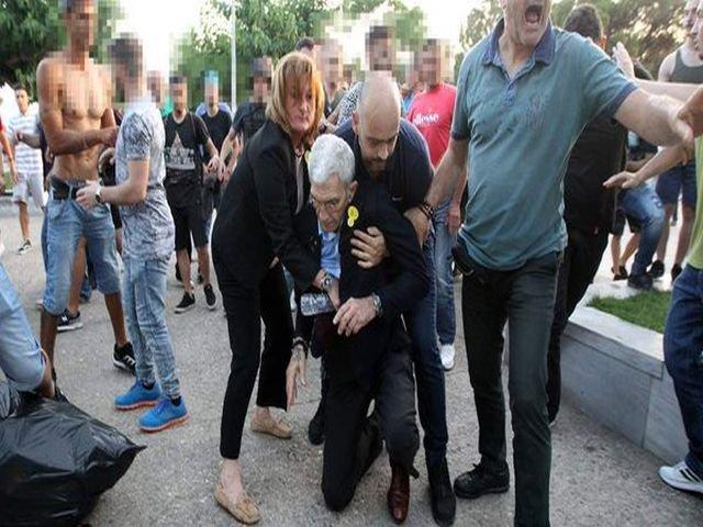 Primarul orasului Salonic a ajuns la spital dupa ce a fost batut de nationalisti