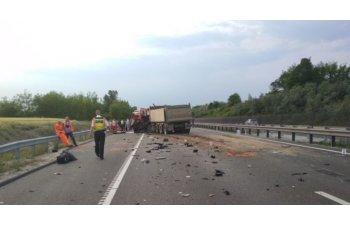 """MAI, dupa accidentul din Ungaria: """"Nu uitati: nu sunteti singurii participanti la trafic, iar soselele nu va apartin!"""""""