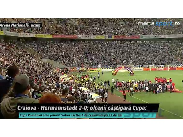 CS Universitatea Craiova a castigat Cupa Romaniei