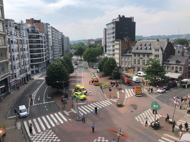 Belgia: Un barbat a impuscat mortal doi ofiteri de politie in centrul orasului Liege