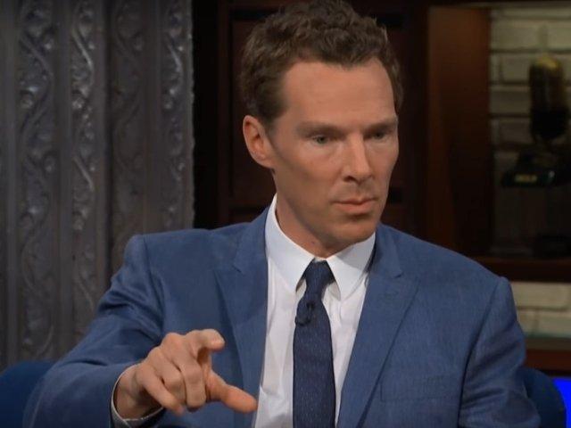 Actorul Benedict Cumberbatch a salvat un ciclist care era agresat in centrul Londrei