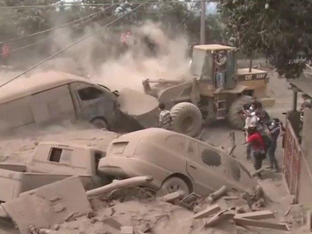 Vulcanul din Guatemala s-a reactivat / VIDEO