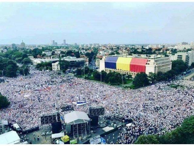 Ce scrie presa straina despre protestul PSD de sambata seara