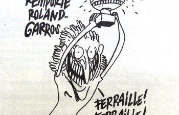 Simona Halep, ironizata de revista franceza Charlie Hebdo