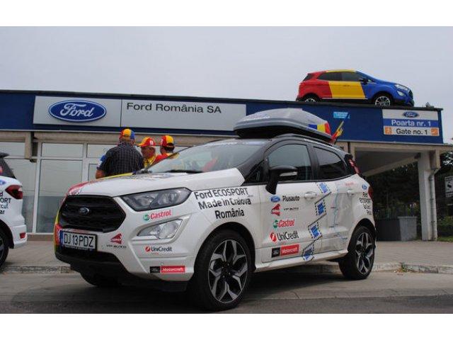 """Cu """"olteanul"""" Ford EcoSport la Cercul Polar: expeditie de 10.000 de kilometri pana in nordul Europei"""