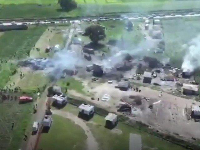 24 de persoane au murit si alte 49 au fost ranite in urma unei explozii la un depozit de artificii, in Mexic