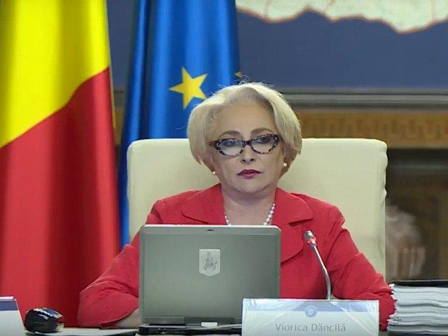 Viorica Dancila, o noua gafa in sedinta de Guvern: Dorim sa ne anexam pe preventie/ VIDEO