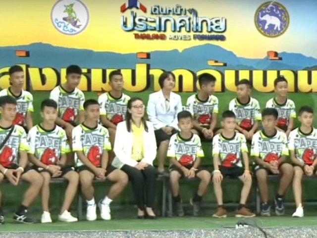 """Copiii salvati din pestera din Thailanda au vorbit despre """"miracolul"""" salvarii/ VIDEO"""