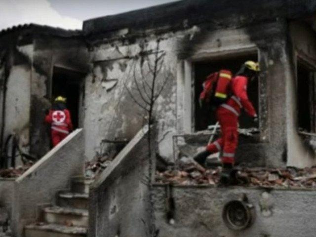 Bilantul incendiilor din Grecia a ajuns la 91 de morti