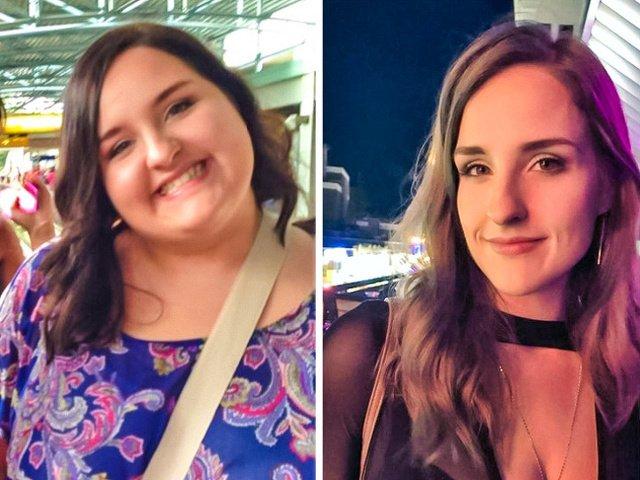 """Nu exista """"nu pot"""". 10+ imagini cu persoane care au slabit aproape jumatate din greutatea lor"""