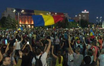 Die Welt relateaza despre protestele de la Bucuresti: Imagini sumbre dintr-o tara care va prezida statele UE din 2019