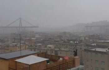 Zeci de morti in Genova, dupa ce un pod al autostrazii A10 s-a prabusit / VIDEO